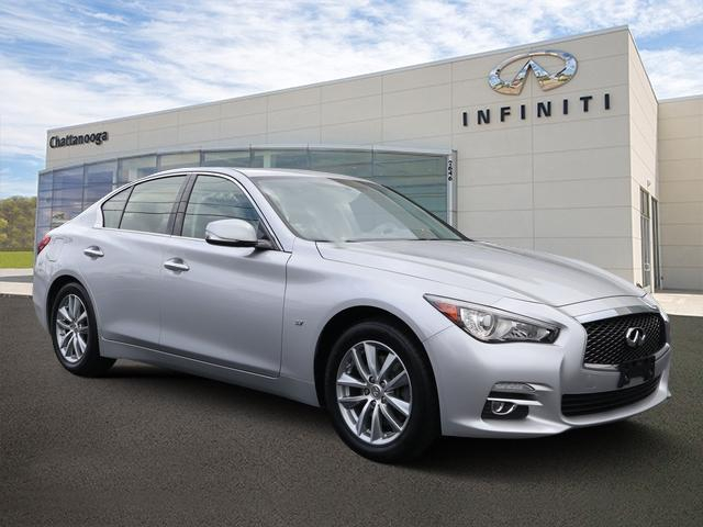 Certified Pre-Owned 2015 INFINITI Q50 4dr Sdn Premium AWD