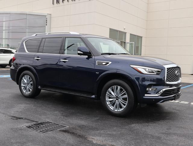 Certified Pre-Owned 2019 INFINITI QX80 LUXE AWD