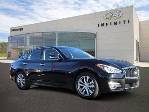 Certified Pre-Owned 2018 INFINITI Q70 3.7 LUXE AWD