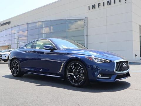 Certified Pre-Owned 2018 INFINITI Q60 SPORT RWD