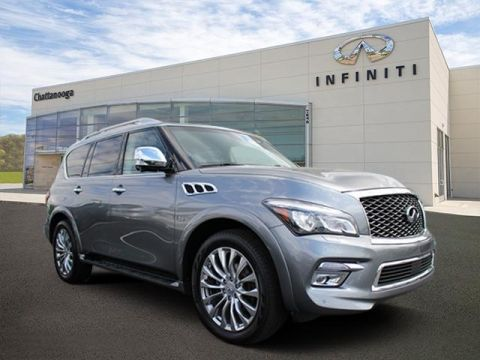 Certified Pre-Owned 2015 INFINITI QX80 4WD 4dr