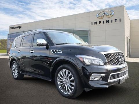 Certified Pre-Owned 2015 INFINITI QX80 2WD 4dr